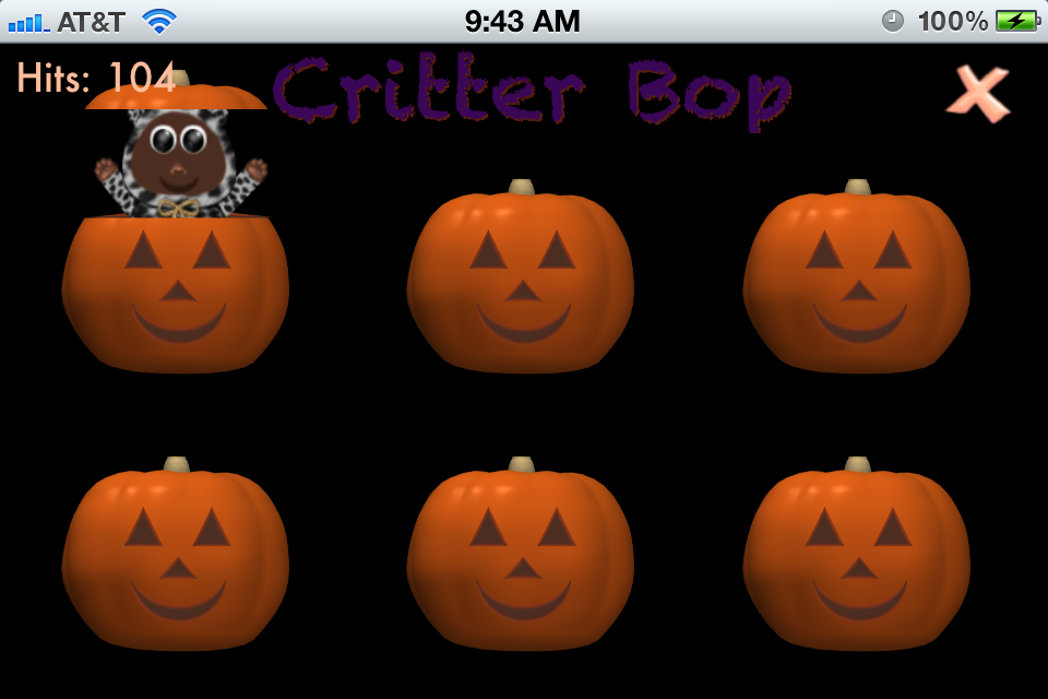 Screenshot Kitty's Toy Box – Halloween